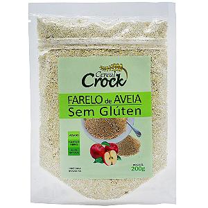 Farelo de aveia sem gluten Cereal Crock 200g