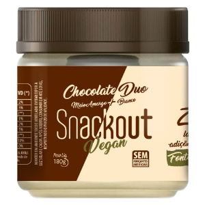 Doce chocolate duo vegan Snackout 180g