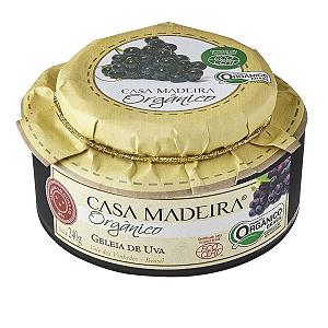 Geleia de uva organico Casa madeira 240g
