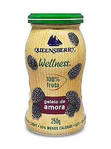 Geleia de amora 100% fruta Queensberry 250g
