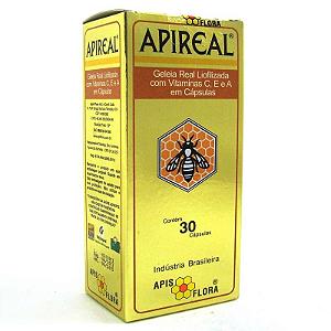 Geleia real liofilizada Apis Flora 30 capsulas