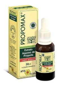 Extrato aquoso de propolis sem alcool propamax Apis Flora 30ml