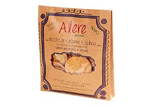 Biscoito de castanha e quinoa defumado Alere 70g