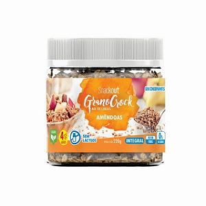 Granola amendoas granorock Snackoutr 220g