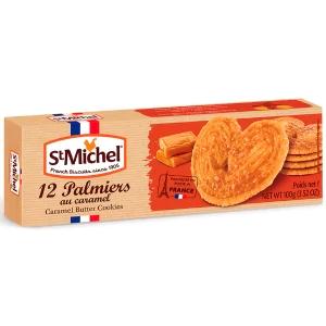 Biscoito palmier frances com caramelo st Michel 100g