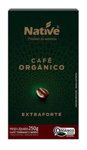Cafe organico extra forte moido Native 250g