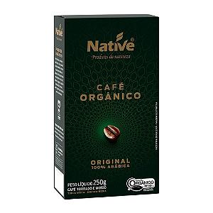 Cafe organico original moido native 250g