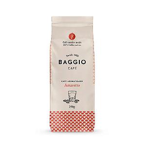 Cafe aromatizado torrado e moido amaretto Baggio 250g