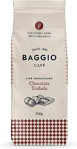 Cafe aromatizado torrado e moido chocolate trufado Baggio 250g