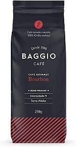 Cafe torrado e moido bourbon Baggio 250g
