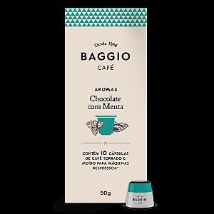 Cafe em capsula chocolate com menta Baggio 10 capsulas