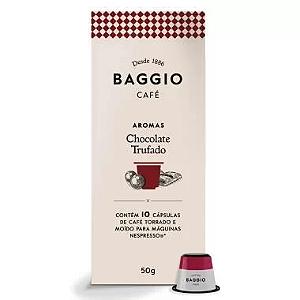 Cafe em capsula chocolate trufado Baggio 10 capsulas