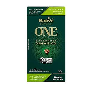 Cafe em capsula organico original Native 10 capsulas