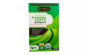Biomassa banana verde integral organica La Pianezza 250g
