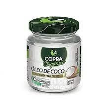 Oleo de coco sem sabor organico copra 200ml
