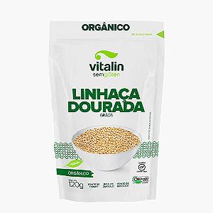 Linhaça dourada organica Vitalin 120g