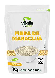 Farinha fibra de maracuja sem gluten Vitalin 150g