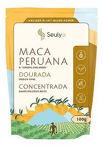 Maca peruana dourada concentrada Souly 100g