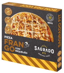 Pizza de frango com requeijão Sagrado Fit 180g