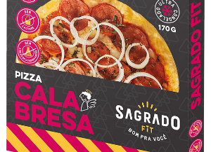 Pizza calabresa Sagrado Fit 180g