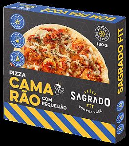 Pizza de camarão com requeijão Sagrado Fit 180g