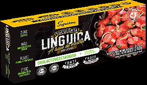 Linguiça vegana defumada Superbom 240g