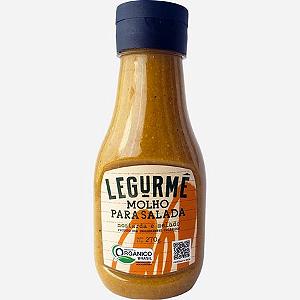 Molho para salada mostarda e melado organico Legurme 270g