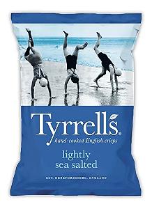 Batata frita sal marinho Tyrrells 150g