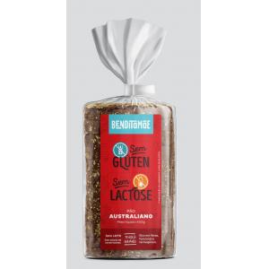 Pão australiano sem gluten congelado Benditamae 400g
