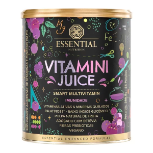 Vitamini juice sabor uva Essential 280g