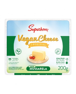 Vegan cheese mussarela Superbom 200g