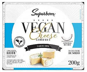 Vegan cheese gourmet brie Superbom 200g