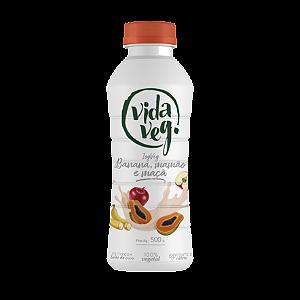 Iogurte vegano banana mamão e maçã Vidaveg 500g