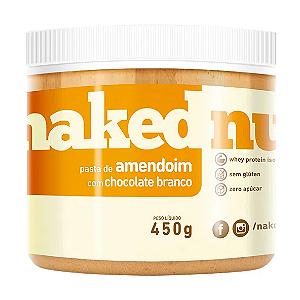 Pasta de amendoim com chocolate branco Naked Nuts 450g