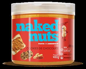Pasta de amendoim com cookies de chocolate Naked Nuts 450g