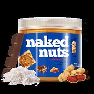 Pasta de amendoim com wafer chocolate e coco Naked Nuts 450g