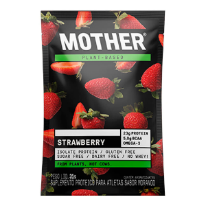 Proteina morango mother sache 31g