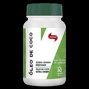 Óleo de Coco VITAFOR 60 Cápsulas de 1g cada