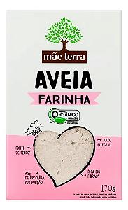FARINHA DE AVEIA ORGÂNICO MÃE TERRA 170G