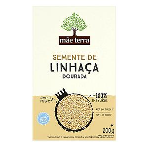 SEMENTE DE LINHAÇA INTEGRAL MÃE TERRA 200G