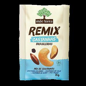 REMIX MIX DE CASTANHAS MÃE TERRA 25G