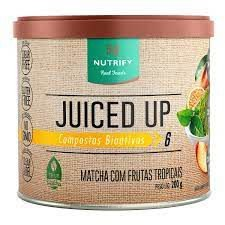 MATCHA COM FRUTAS TROPICAIS JUICED UP NUTRIFY - 200G