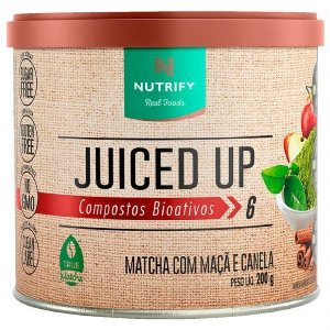 MATCHA COM MAÇÃ E CANELA JUICED UP NUTRIFY - 200G