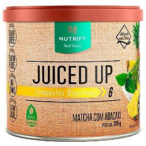 MATCHA COM aBACAXI JUICED UP NUTRIFY - 200G