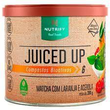 MATCHA COM LARANJA COM ACEROLA JUICED UP NUTRIFY - 200G