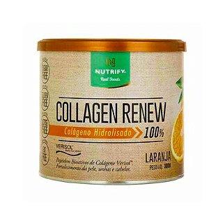 COLAGEN RENEW - Colágeno hidrolisado sabor Laranja - NUTRIFY 300g