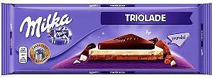 CHOCOLATE TRIOLADE 280G MILKA