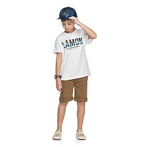 Camiseta Lamon - Branco