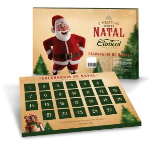 Calendário de Natal 195g