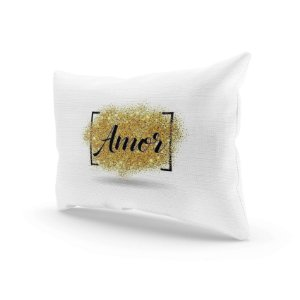 Almofada Decorativa - Aqui há amor